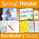 La Casa Spanish House Vocabulary Bundle