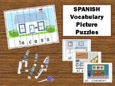 La Casa – Spanish Puzzle Strips Vocabulary Activity
