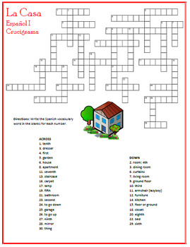 La Casa: Spanish Rooms of the House Puzzles