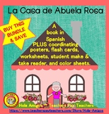 La Casa BUNDLE- Spanish home (book, flash cards, printables, student reader)