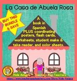 La Casa BUNDLE- Spanish home (book, flash cards, printables, student reader)