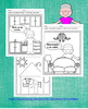 La Casa - Spanish book and color sheets about home