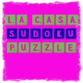 Spanish Home Vocabulary, La Casa Sudoku