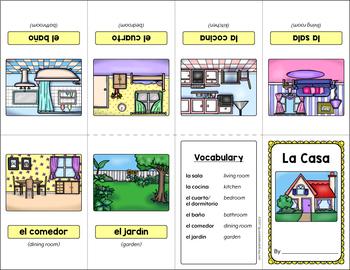 La Casa (The House) Mini Booklet Activity
