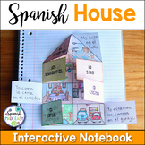 La Casa (The House) Spanish Interactive Notebook Activity