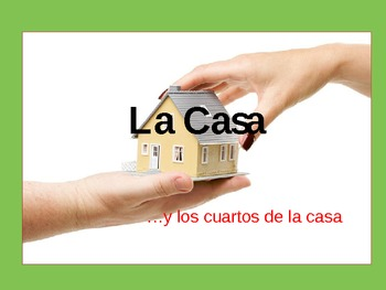 La Casa - The House Spanish Vocabulary