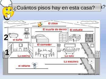 La Casa The House Spanish Vocabulary By Mama Gonzo Tpt. La Casa The House Spanish Vocabulary. Wiring. A Diagram Of A House Spanish At Scoala.co