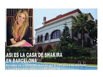 La Casa de Shakira powerpoint