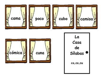 La Casa de Sílabas