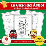 La Casa del Árbol Activity Pages for Books 1 - 3