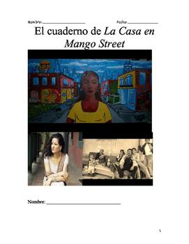 La Casa en Mango Street Student Notebook Novel Study in SPANISH!!!