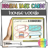 Casa y Muebles Digital Task Card Activity | BOOM Cards | Distance Learning