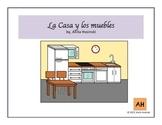 La Casa y los muebles (House & furniture in Spanish)