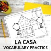 La Casa y los muebles Spanish House and Furniture Vocabulary Practices
