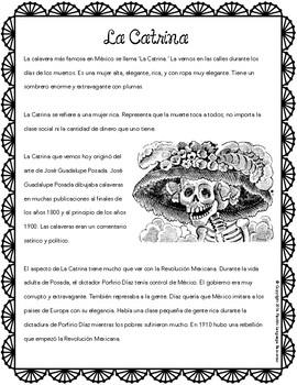 La Catrina / José Guadalupe Posada Reading Pack