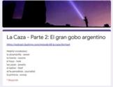 La Caza - Episode 2 - Duolingo podcast - Google Form quiz