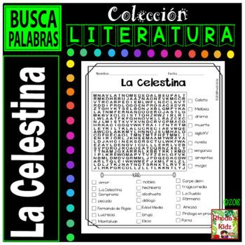 La Celestina  -Word search