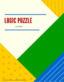 Logic Puzzle- La cena