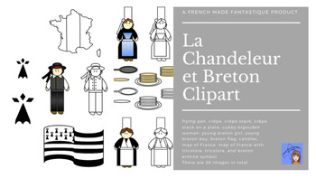 La Chandeleur et Breton French Clipart