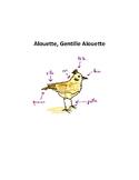 La Chanson : Alouette, Gentille Alouette