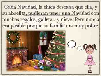 La Chica Pobre: Un Cuento de Navidad (PPT)
