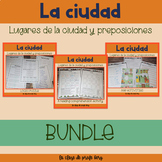 La Ciudad y preposiciones The city and prepositions Spanis