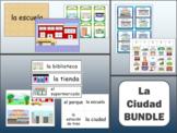 La Ciudad Vocabulary BUNDLE - The City Vocabulary in Spanish