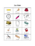 La Clase Vocabulario - Classroom Objects Vocabulary