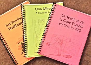 La Clase en Cuarto 220 (Present Tense) Spanish 1 Book