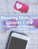 La Clase de Confesiones (A.C. Quintero) Running Dictation