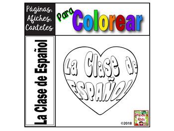 La Clase de Español  -Posters