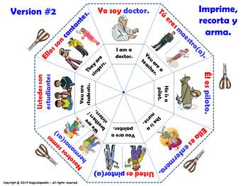 La Clase de español. El Verbo Ser. / To B