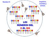 Los Números Cardinales del 1 al 100