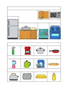 La Cocina Spanish Interactive Notebook