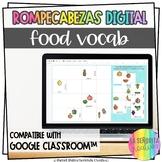 La Comida Digital Jigsaw Puzzles | Use with Google Apps | Food Vocab