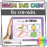 La Comida Digital Task Card Activity | BOOM Cards | Distance Learning