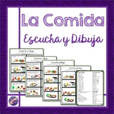 La Comida, Escucha y Dibuja, Vocabulary, Conversation, Lis