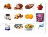La Comida- Food Matching Cards (Spanish)