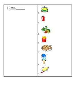 La Comida Food Quiz