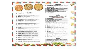 La Comida - Food - Realidades - Spanish 1 - Menus - Comp Questions