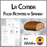 Food in Spanish - La Comida - Activity Pack