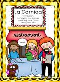 La Comida  El Restaurante - Foods in Spanish Restaurant Skit