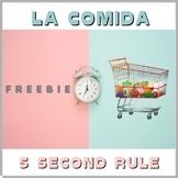 La Comida - Fun Spanish Vocabulary Game - Distance Learning