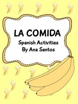 La Comida- Spanish Activities