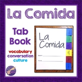La Comida, Spanish Clothing Vocabulary, Tab Book, Conversa