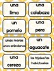 La Comida Spanish Food Contextualized Flashcards