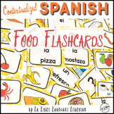 La Comida Spanish Food Vocabulary Activities and Flashcards
