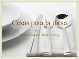La Comida: Spanish Food Vocabulary PowerPoint