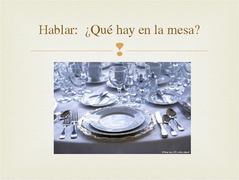 La Comida: Spanish Food Vocabulary PowerPoint