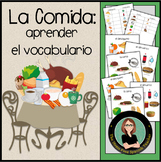 La Comida / Spanish Food Words Introductory Activities, Po